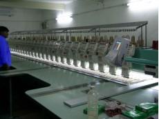 Computerised Embroidery Machine